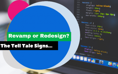 9 Reasons Why I Need a Website Redesign